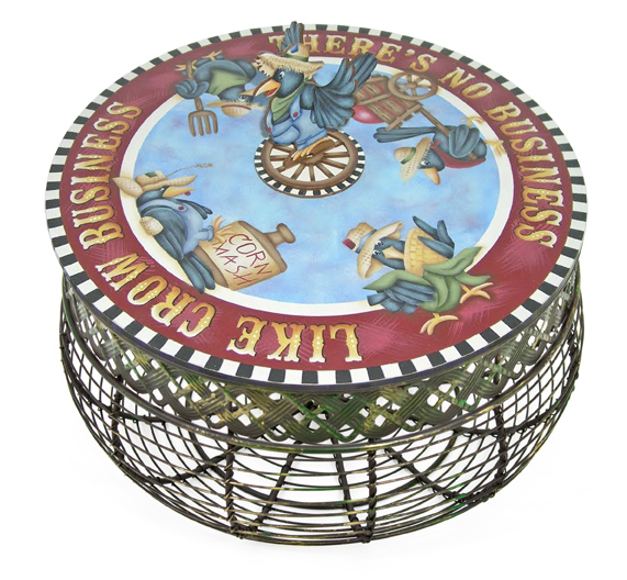Crow Business Lazy Susan - E-Packet - Jeanne Bobish