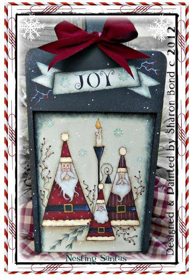 Nesting Santas - E-Packet - Sharon Bond