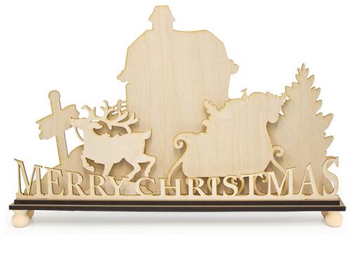 Standing Surface Set - North Pole Christmas