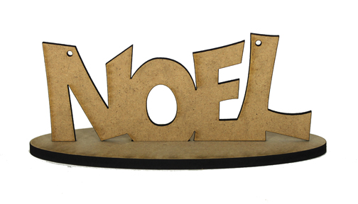 Spirit of Christmas - Noel Ornament with Base