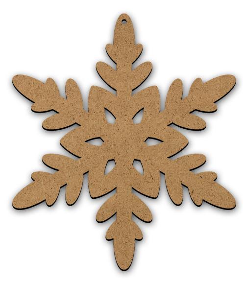 Frosty Flake Ornament