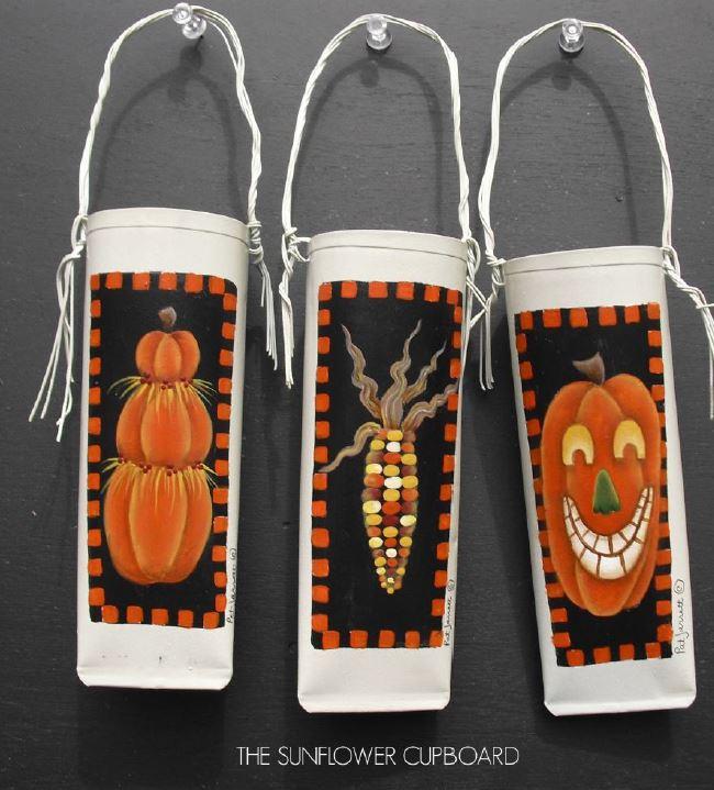 Autumn Posie Pockets - E-Packet - Pat Jarrett