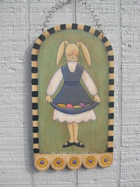 Easter Egg Bunny - E-Packet - Pat Jarrett