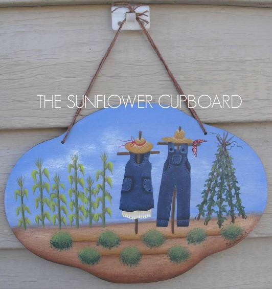 His and Her Scarecrows - E-Packet - Pat Jarrett