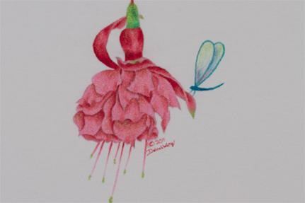 Glistening Fuchsia - E-Packet - Debra Welty