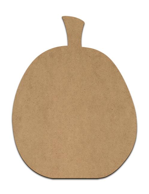 "Simple Pumpkin Plaque - 8.125 x 10.625"""