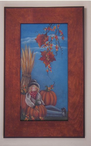 Fall Scarecrow Scene - E-Packet - Donna Scully