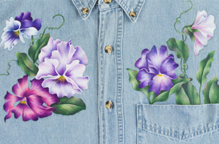 More Pansies - E-Packet - Debra Welty