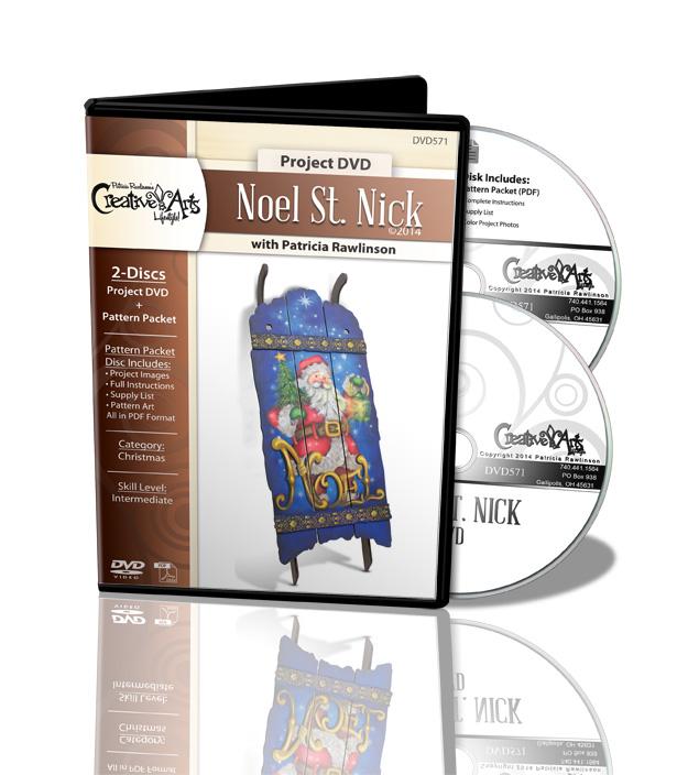 Noel Saint Nick DVD - Patricia Rawlinson