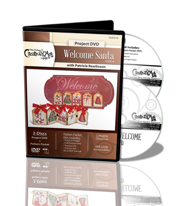 Welcome Santa DVD - Patricia Rawlinson