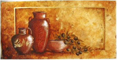 Tuscan Pots - E-Packet - Tracy Moreau
