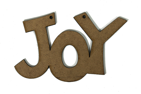Spirit of Christmas -Joy Ornament