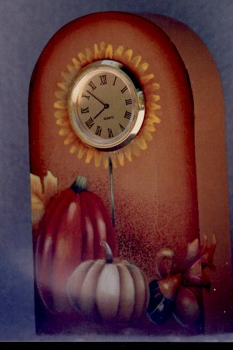 Fruits of the Spirit Harvest Clock - E-Packet - Barbara Franzreb-Bunsey