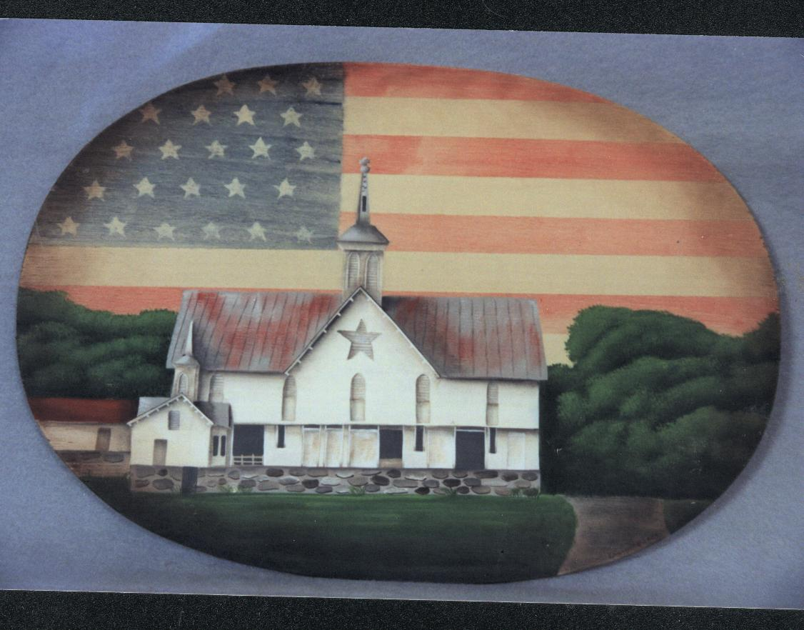 Star Barn Placemat - E-Packet - Barbara Franzreb-Bunsey
