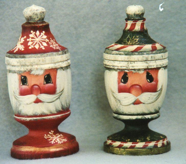 Santa Cups - E-Packet - Barbara Franzreb-Bunsey