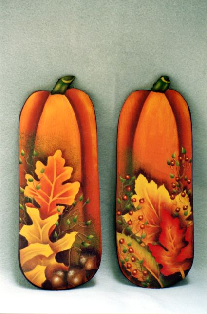 Fall Pumpkins and Leaves - E-Packet - Barbara Franzreb-Bunsey