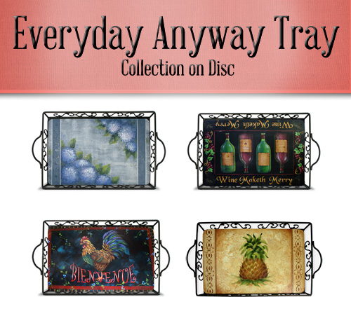Everyday Anyway Tray Collection on Disc