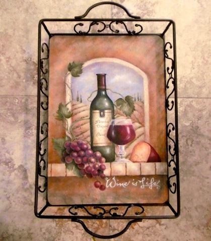 Tuscan Niche / Wine is Art - E-Packet - Judith Westegaard