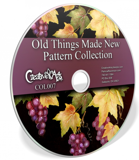 Old Things Become New - 6 Articles + Pattern Packet Collection on Disc