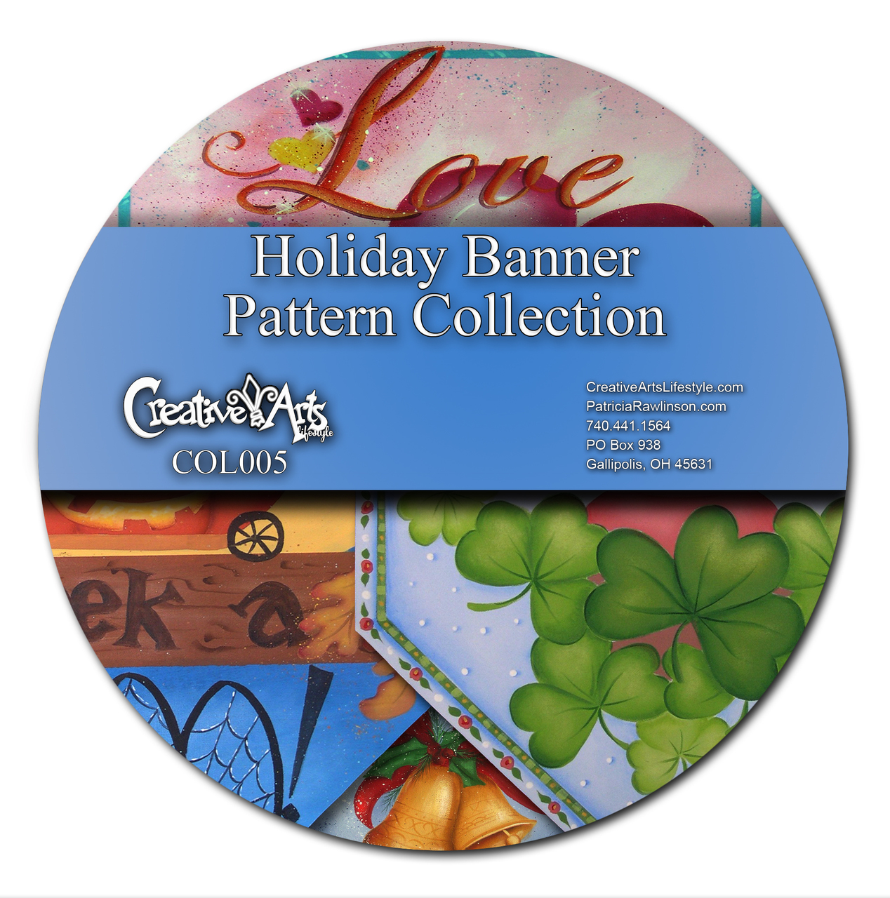 Holiday Banner Patterns Collection
