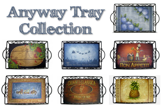 Anyway Tray Pattern Collection on Disc