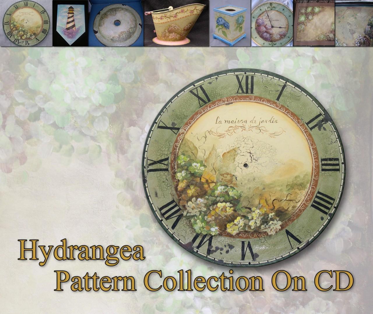 Hydrangea Pattern Collection