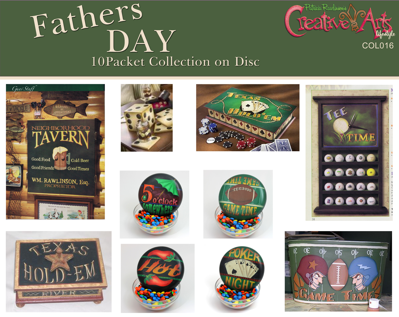 Father's Day Pattern Collection
