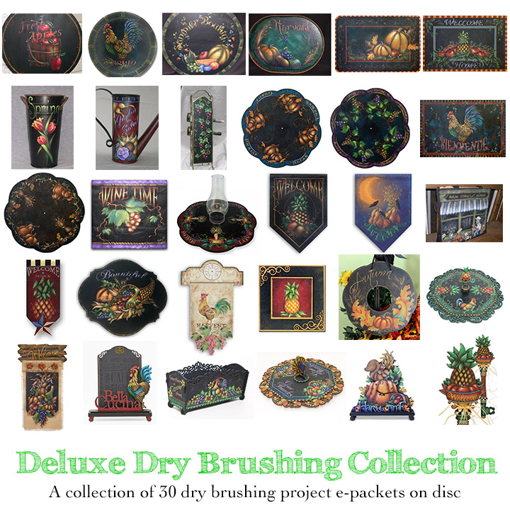 Deluxe Dry Brush Collection