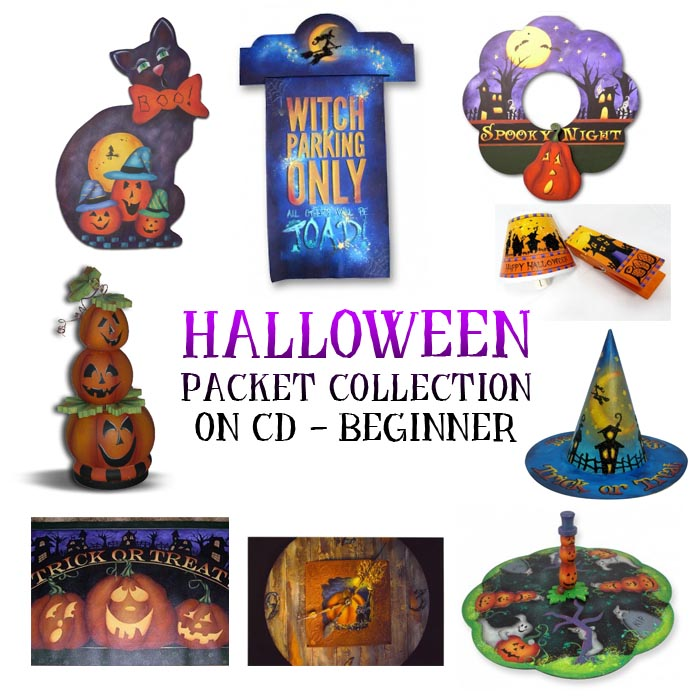 Beginner Halloween Pattern Collection