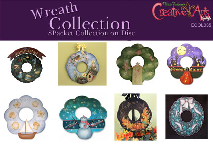 Wreath Pattern Collection