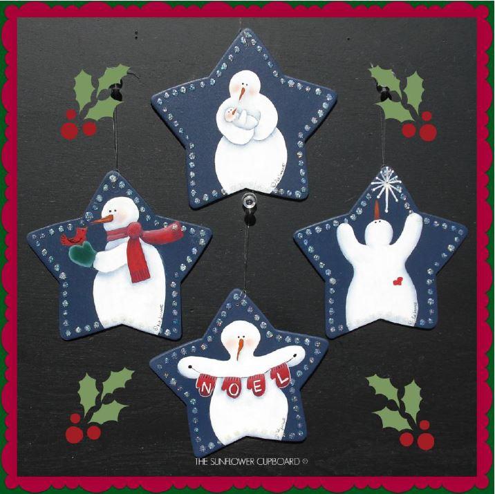 Snowie Ornies - E-Packet - Pat Jarrett