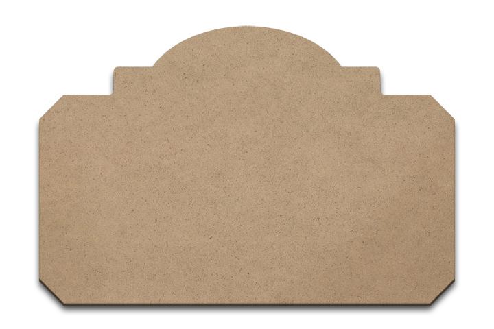 "Wood Plaque - Artisan - Medium- 11 1/4"" x 7 1/2"""