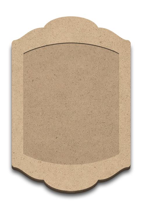 "Wood Plaque with Overlay - Shenandoah - Large - 15"" x 10 3/16"""