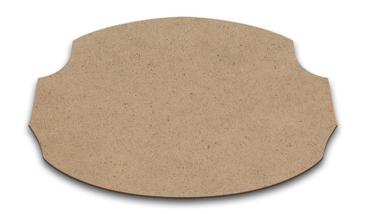 "Wood Plaque - Durango - Large - 16"" x 9 3/8"""