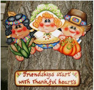 Thankful Hearts-  E-Packet - Sharon Cook