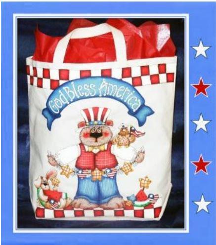 God Bless America Bag - E-Packet - Sharon Cook
