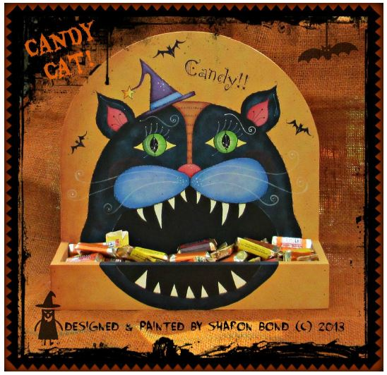 Big Mouth Candy Cat - E-Packet - Sharon Bond