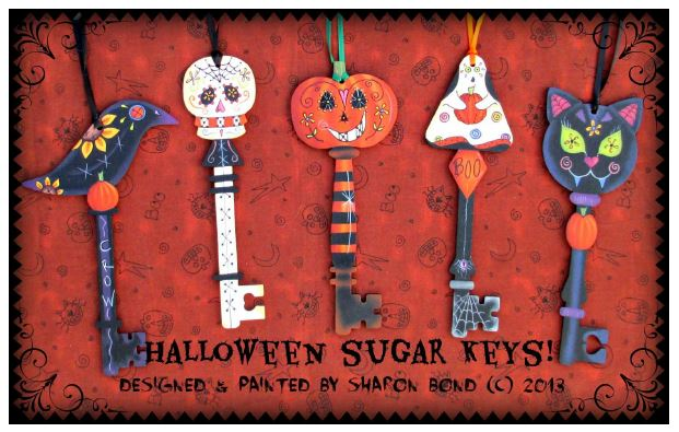 "Halloween ""Sugar"" Keys - E-Packet - Sharon Bond"