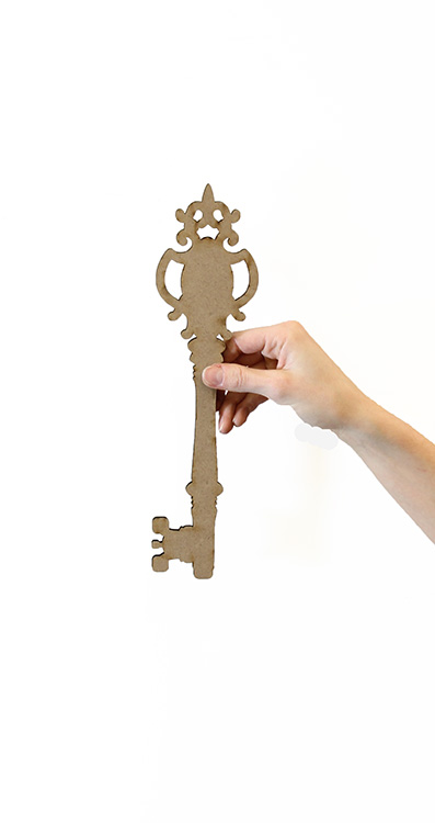 "Buckingham Key Surface - 12"" x 3 1/8"""