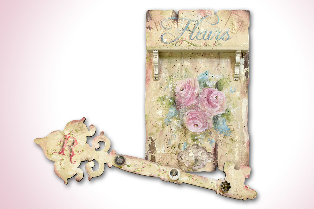 French Fleurs Rustic Chic Roses DVD