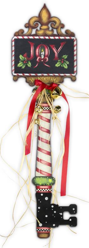 Joy Christmas Key E-Packet - Patricia Rawlinson