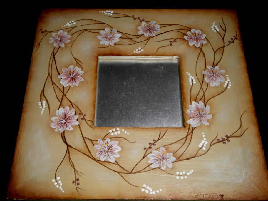 Cherry Blossomesque Mirror - E-Packet - Ann Perz