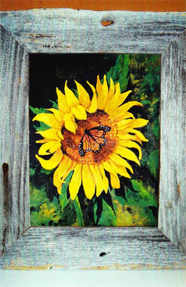 Rustic Sunflower E-Packet - Beth Wagner