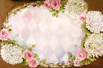 Rose Canvas Centerpiece E-Packet - Beth Wagner
