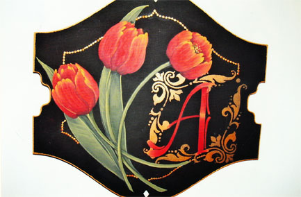 Tulips 'n' Initials E-Packet - Beth Wagner