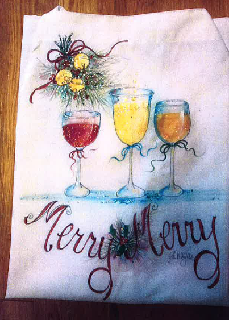 Merry Merry Apron E-Packet - Beth Wagner