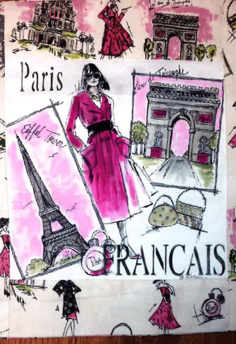 Paris Pillow E-Packet - Beth Wagner