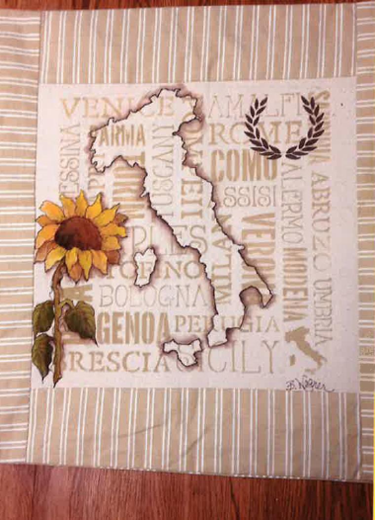 Italian Pillow E-Packet - Beth Wagner