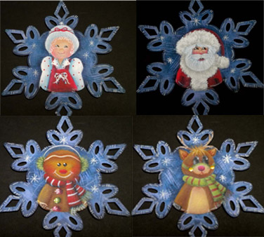 Christmas Family Ornaments - E-Packet - Ann Perz