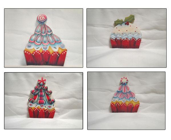 Christmas Cupcakes - E-Packet - Ann Perz